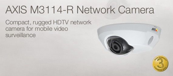 Axis M3114-R Network Camera
