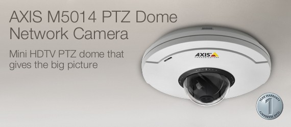 Axis M5014 PTZ Dome Network Camera