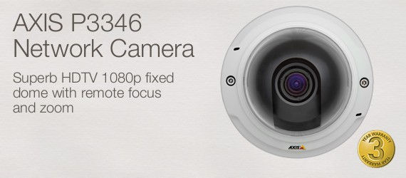 Axis P3346 Network Camera