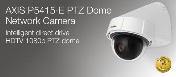 Axis P5414-E PTZ Dome Network Camera